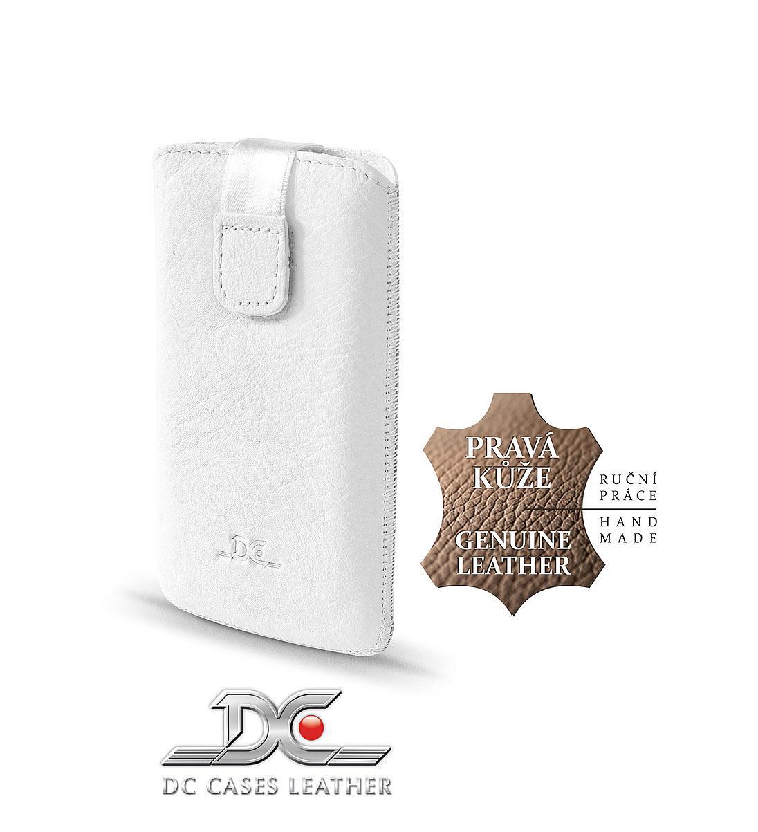 DC (TOP) POUZDRO L T15 Protect Montone BÍLÉ (N97, IPHONE 4G, HTC DESIRE ..)