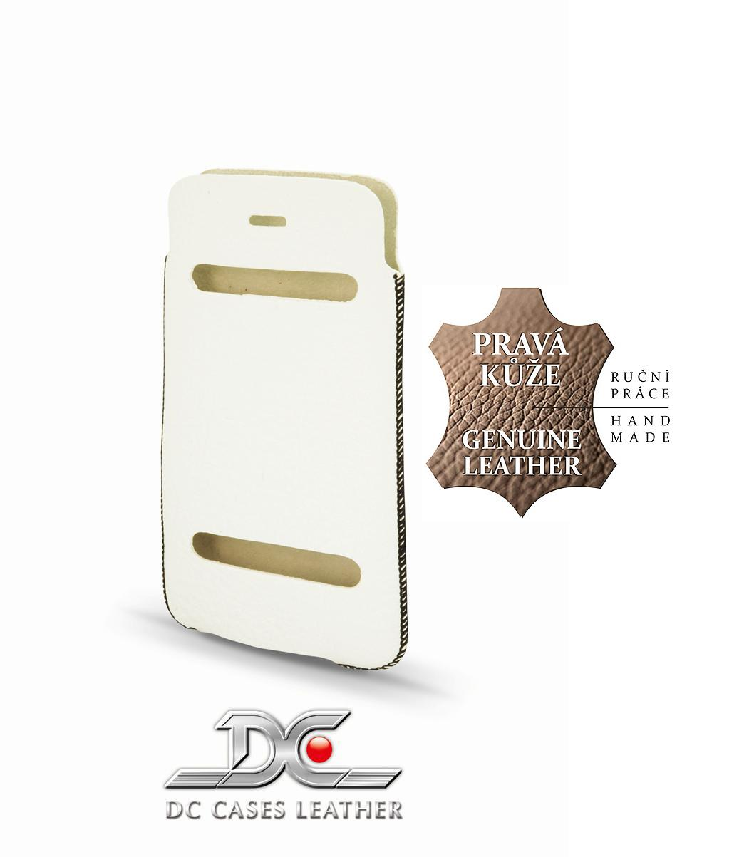 DC (TOP) POUZDRO L+ CASUAL Montone BÍLÉ (iPhone 5)