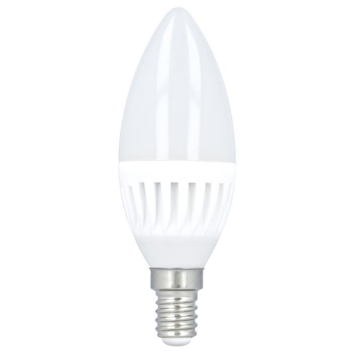 LED žárovka Forever C37 E14 10W teplá bílá