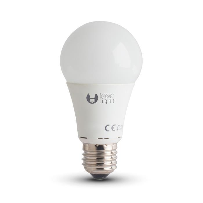 LED žárovka Forever A60 E27 10W studená bílá