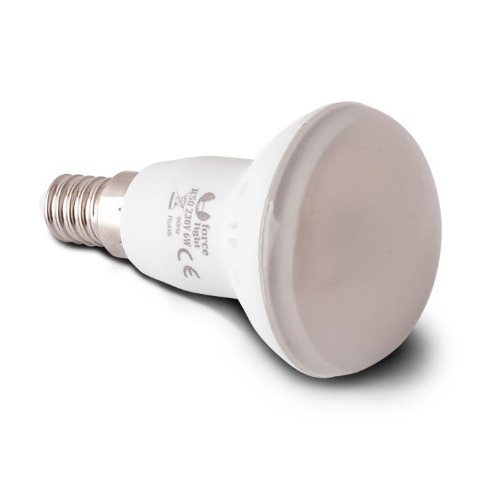 LED ŽÁROVKA E14 R50 - 33 LED SMD 2835 (230V) TEPLÁ BÍLÁ