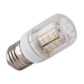 LED ŽÁROVKA E27/180ST - 6W, 48 LED SMD 3014 (230V) TEPLÁ BÍLÁ