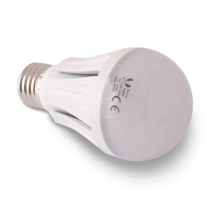 LED ŽÁROVKA E27 - 10W, A60, 28 LED SMD 2835 (230V) STUDENÁ BÍLÁ