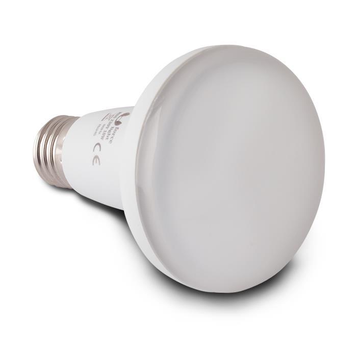 LED ŽÁROVKA E27 - 10W, R80, 20 LED SMD 2835 (230V) TEPLÁ BÍLÁ