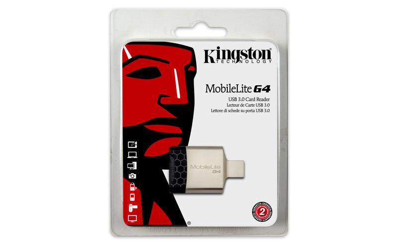 USB 3.0 ČTEČKA KINGSTON MICRO MicroSD PAMĚŤOVÝCH KARET
