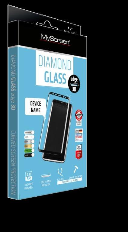 OCHR. FOLIE myScreen DIAMOND GLASS 3D Full Screen APPLE 7/8 - ČERNÝ