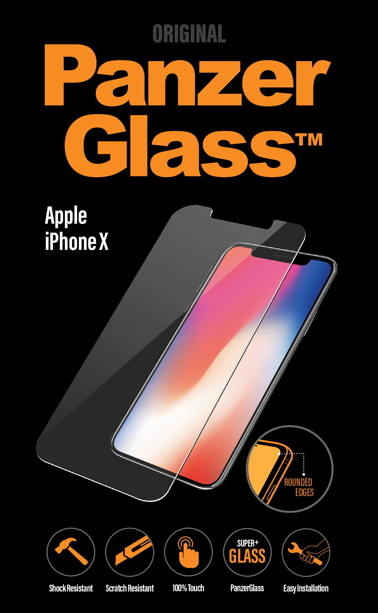 OCHR. FOLIE DISPLEJE PanzerGlass APPLE IPHONE X