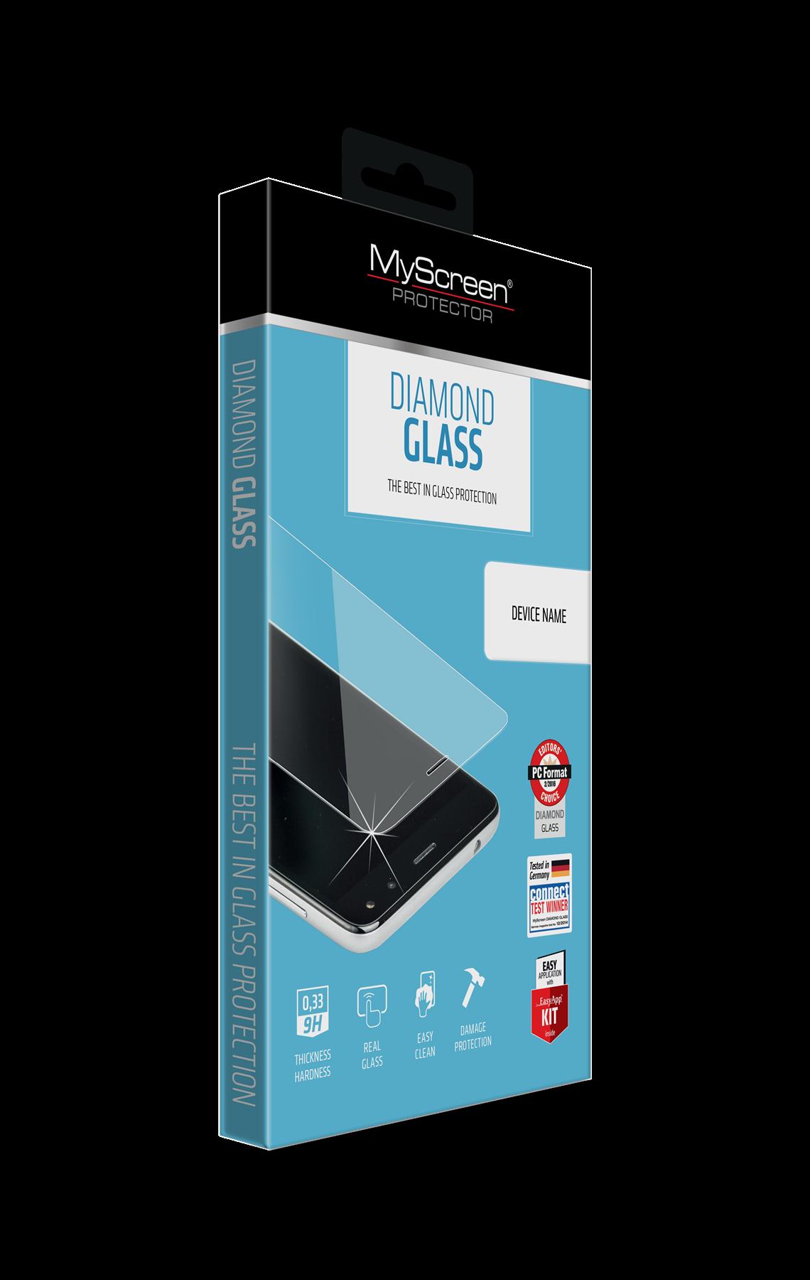 OCHR. SKLO DISPLEJE myScreen  DIAMOND GLASS HUAWEI P9L MINI / Y6 PRO 2017
