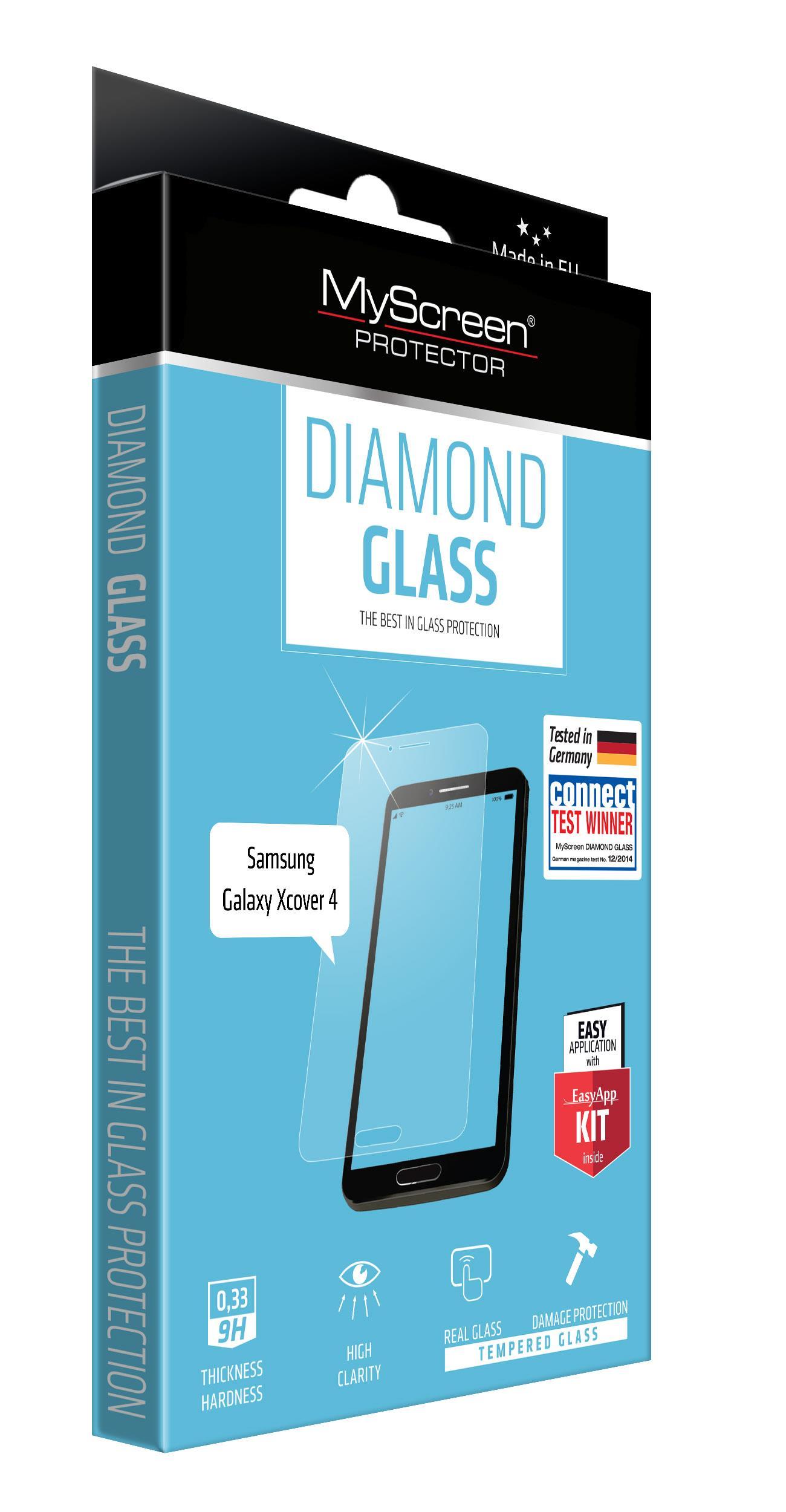 OCHR. SKLO DISPLEJE myScreen  DIAMOND GLASS SAMSUNG GALAXY XCOVER 4