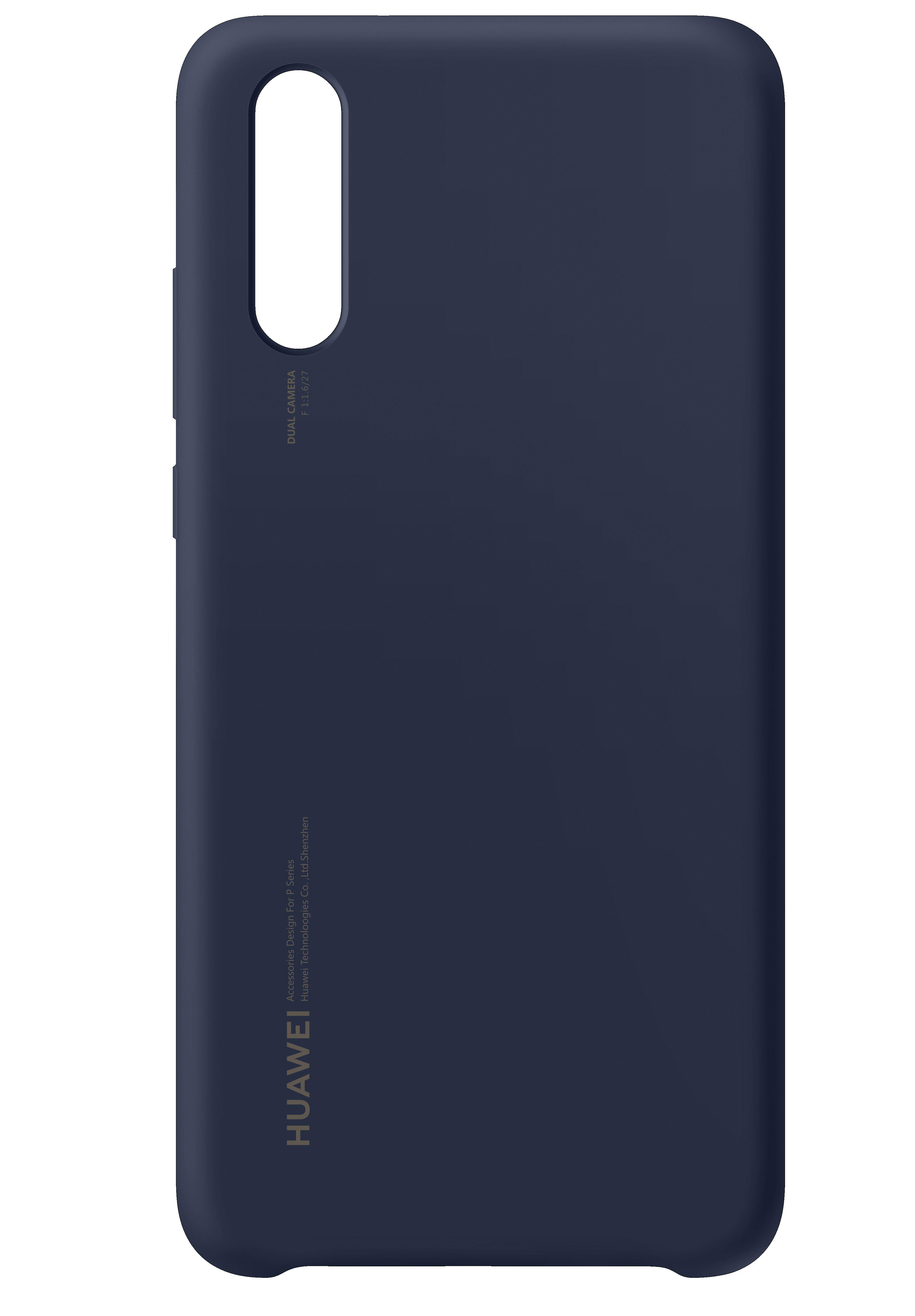 Silikonový kryt pro Huawei P20 modrý