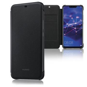 Flipové pouzdro pro Huawei Mate 20 Lite Wallet Cover černé
