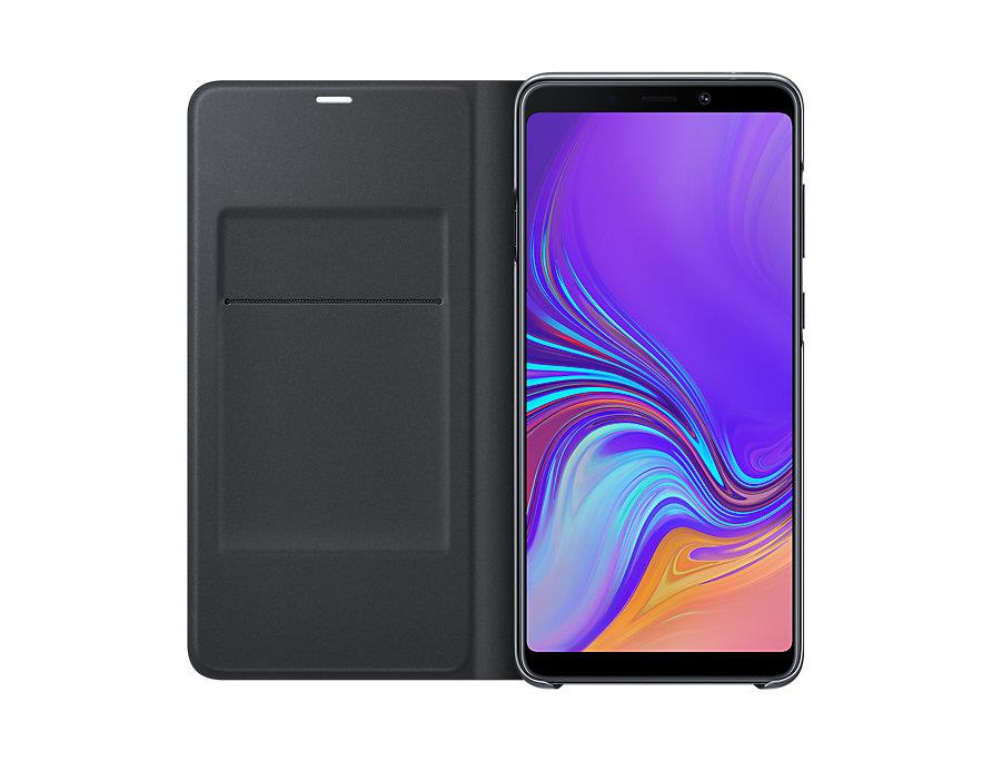 Flipové pouzdro Wallet cover pro Samsung Galaxy A9 (2018) černé