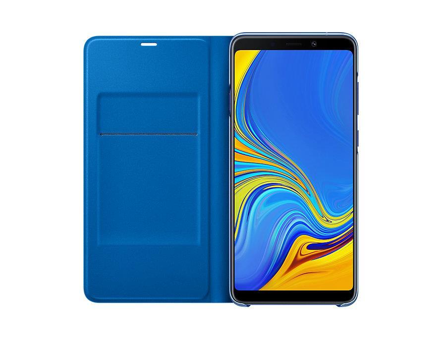 Flipové pouzdro Wallet cover pro Samsung Galaxy A9 (2018) modré