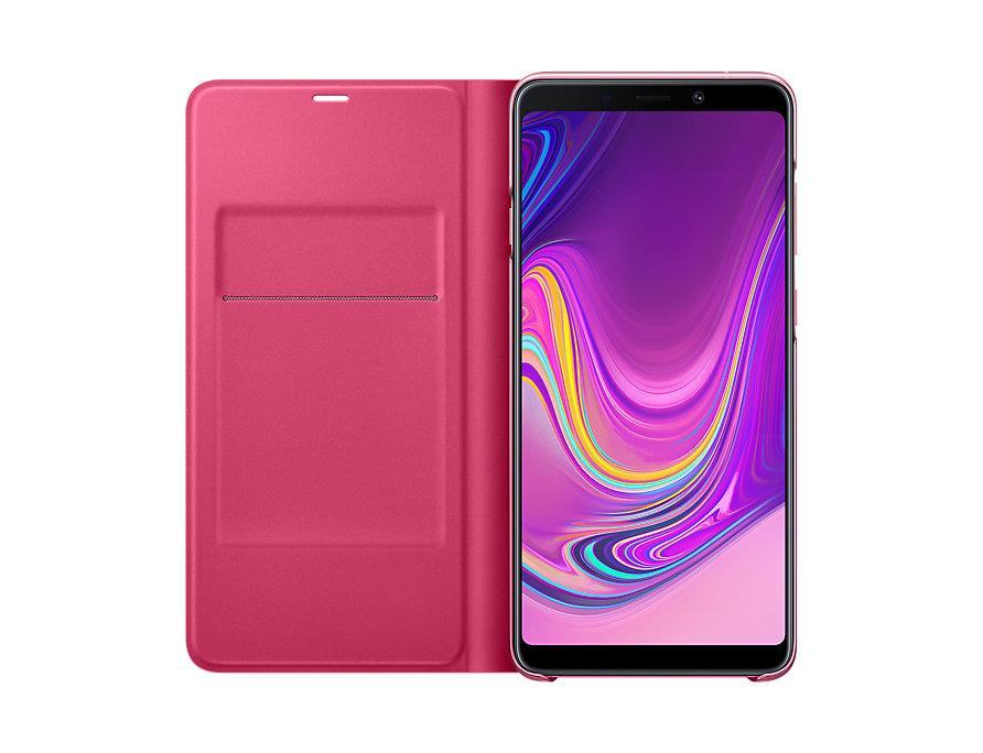 Flipové pouzdro Wallet cover pro Samsung Galaxy A9 (2018) růžové