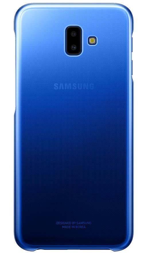 Flipové pouzdro Gradation cover pro Samsung Galaxy J6 Plus modré