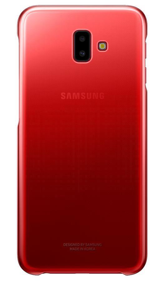 Flipové pouzdro Gradation cover pro Samsung Galaxy J6 Plus červené
