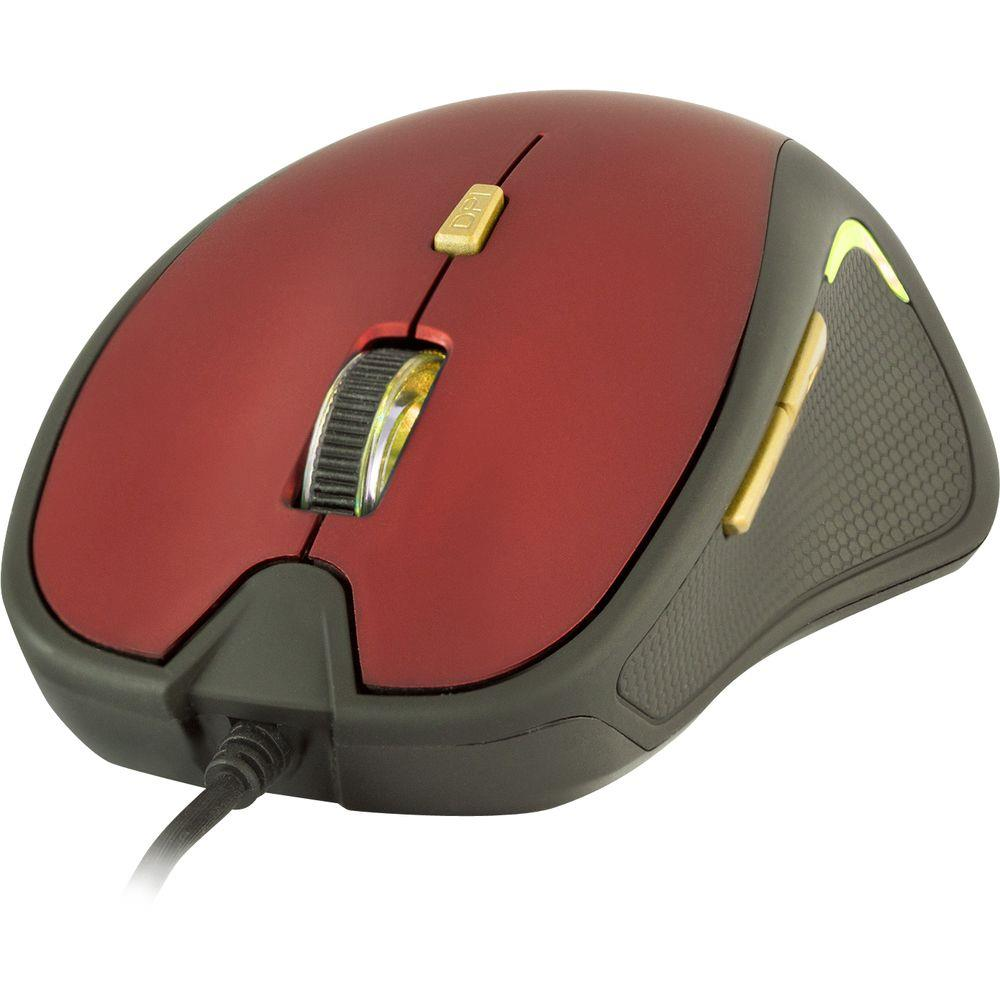 Myš Yenkee Dakar červená