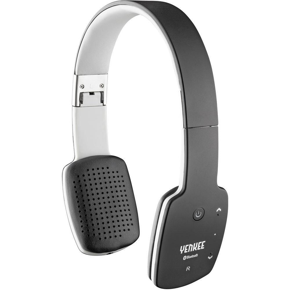 Bezdrátová sluchátka s mikrofonem Yenkee Groove BT černá