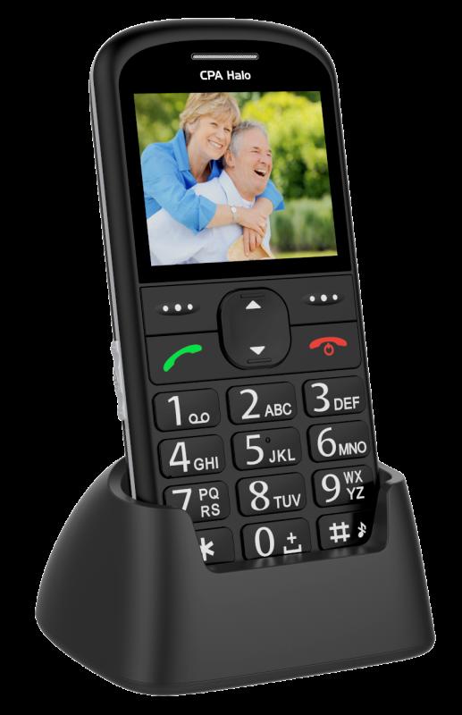 MOBILNÍ TELEFON CPA HALO 11 ČERNÝ