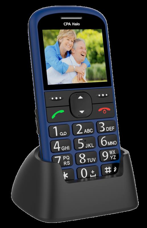 MOBILNÍ TELEFON CPA HALO 11 MODRÝ