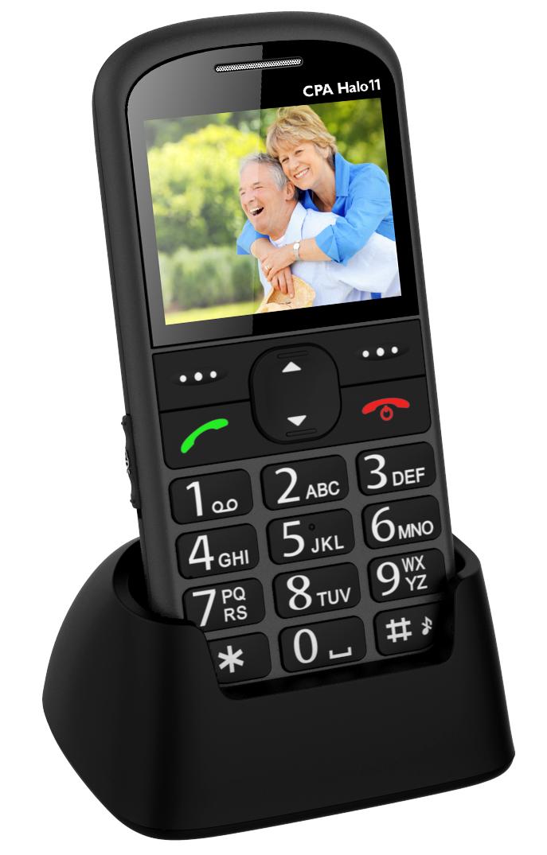 MOBILNÍ TELEFON CPA HALO 11 ŠEDÝ