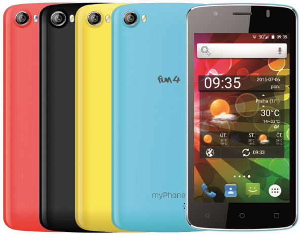 TELEFON DUAL SIM myPhone FUN 4
