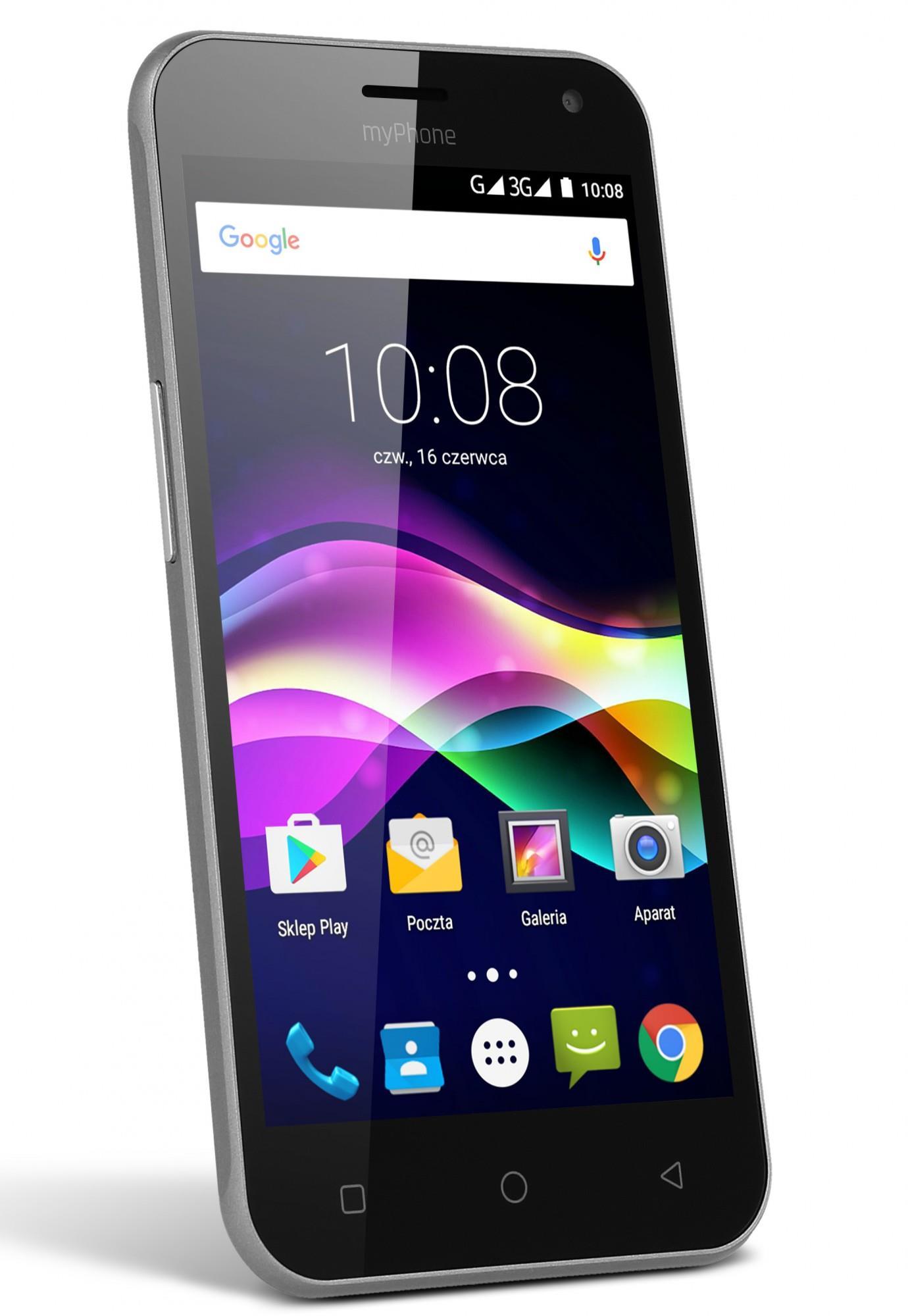 TELEFON DUAL SIM myPhone FUN 5 ČERNÝ