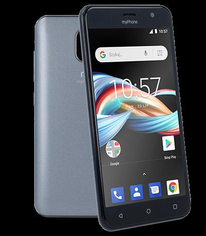 Mobilní telefon myPhone Fun 6 Lite šedý