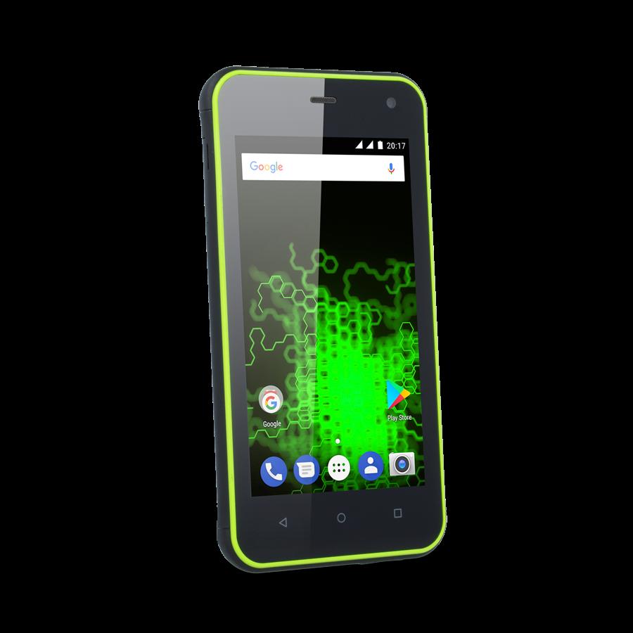 TELEFON DUAL SIM myPhone HAMMER ACTIVE ZELENÝ