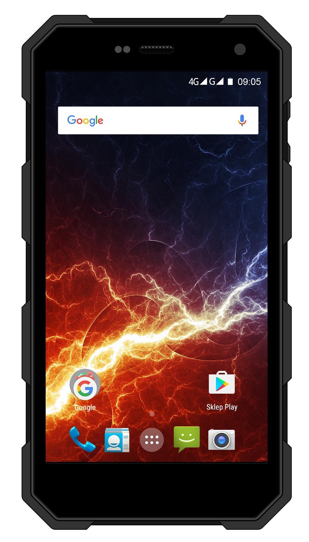 TELEFON DUAL SIM myPhone HAMMER ENERGY LTE ČERNÝ