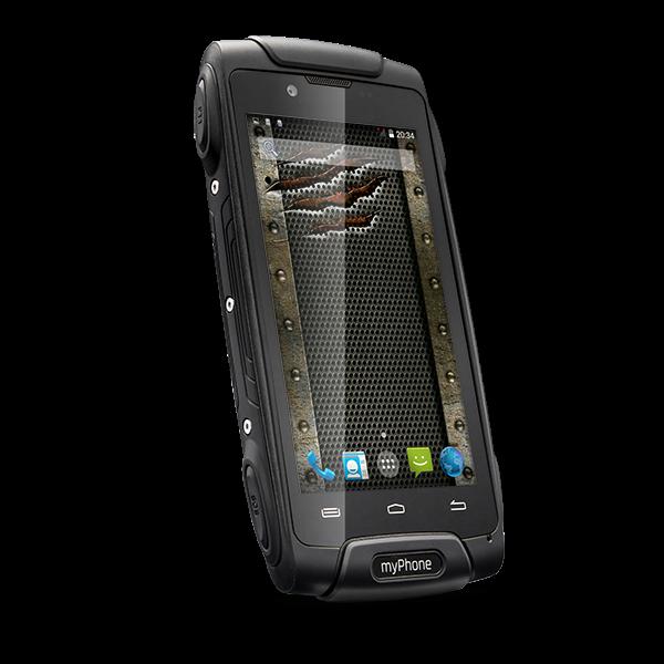 TELEFON DUAL SIM myPhone HAMMER AXE 3G ČERNÝ