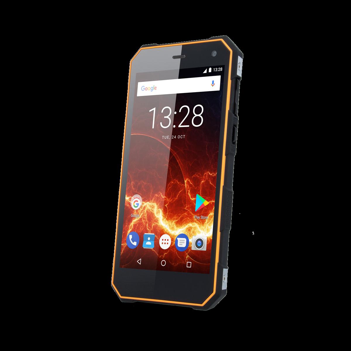 TELEFON DUAL SIM myPhone HAMMER ENERGY 3G ORANŽOVO-ČERNÝ