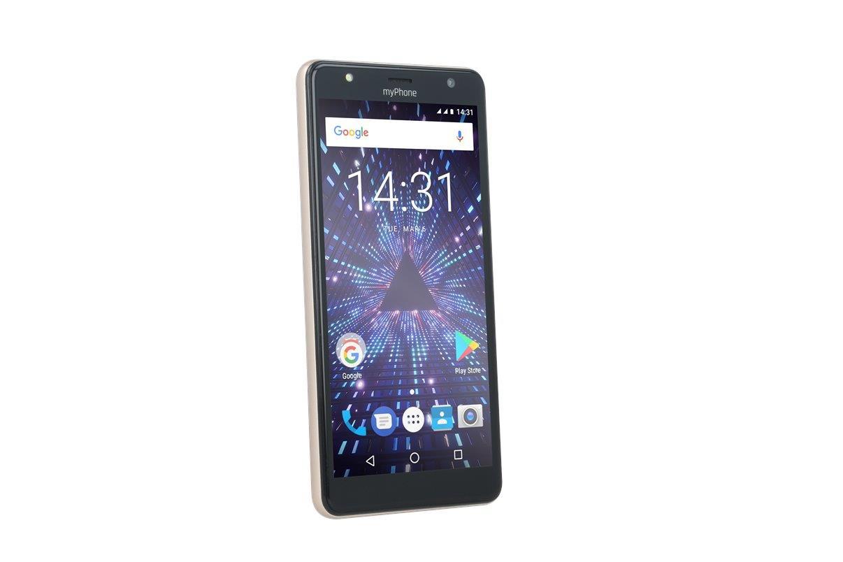 TELEFON DUAL SIM myPhone POCKET 18x9 ZLATÝ