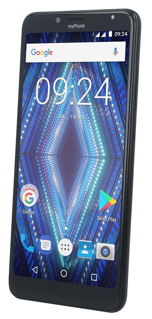 TELEFON DUAL SIM myPhone PRIME 18x9 ČERNÝ