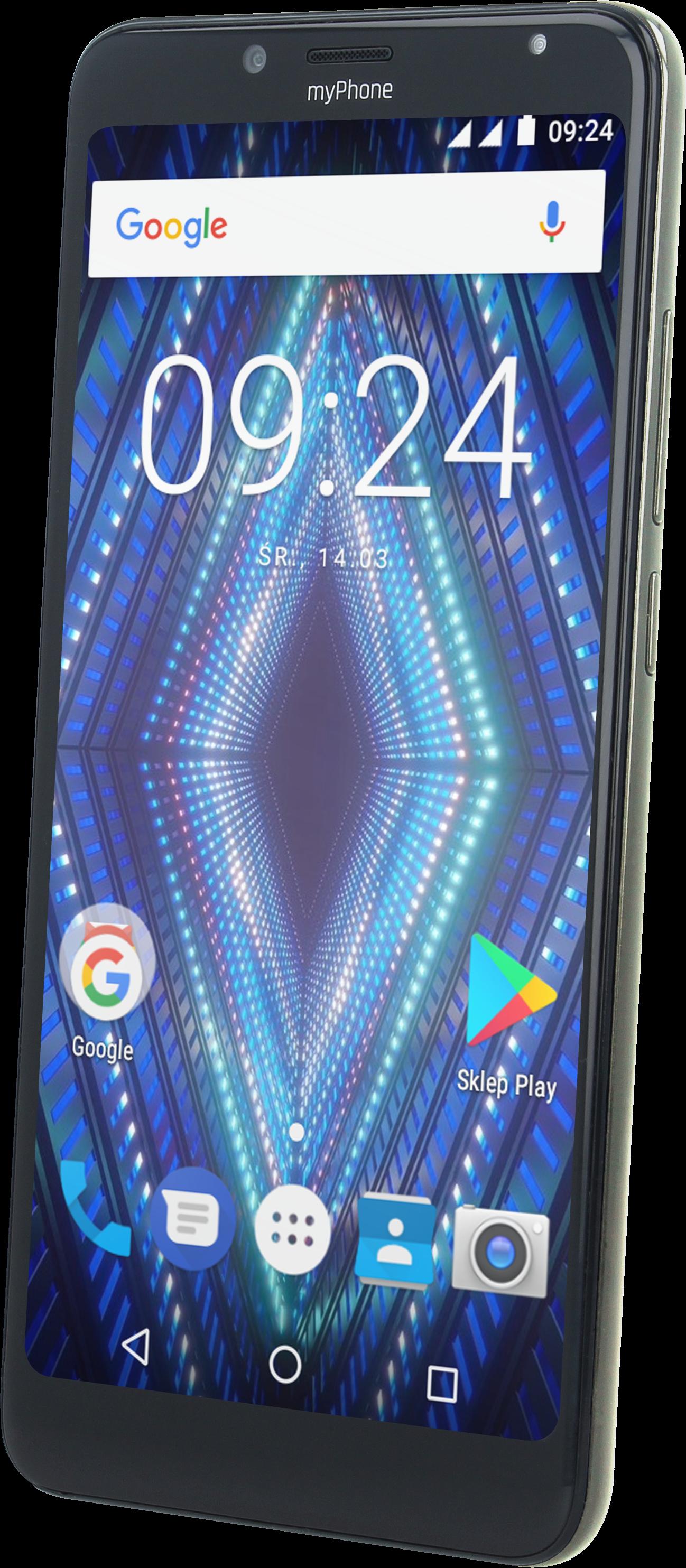 TELEFON DUAL SIM myPhone PRIME 18x9 ZLATÝ