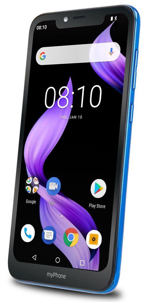 Mobilní telefon myPhone Prime 3 modrý