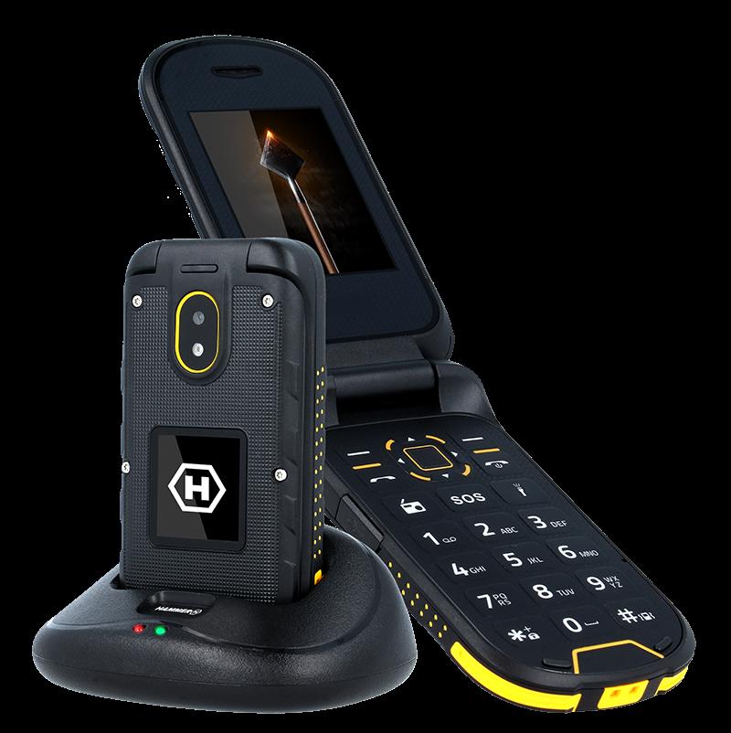 TELEFON DUAL SIM myPhone HAMMER BOW PLUS ORANŽOVO-ČERNÝ