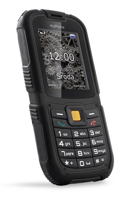 TELEFON DUAL SIM myPhone HAMMER 2 ČERNÝ