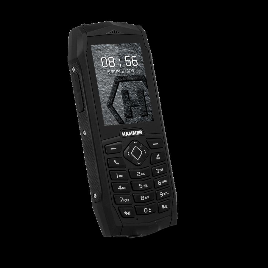 TELEFON DUAL SIM myPhone HAMMER 3 ČERNÝ