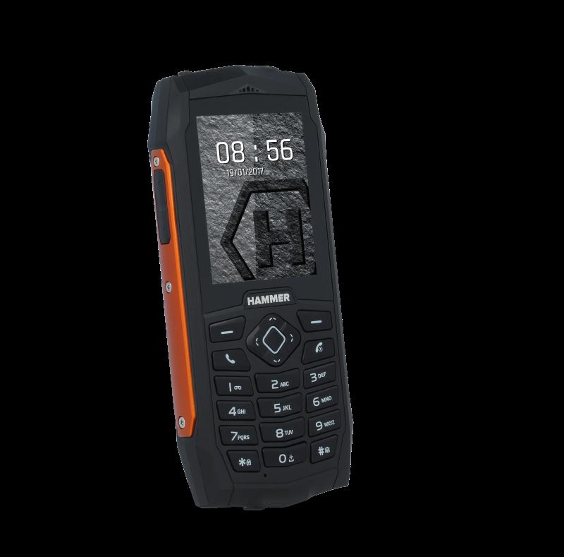 TELEFON DUAL SIM myPhone HAMMER 3 ORANŽOVÝ