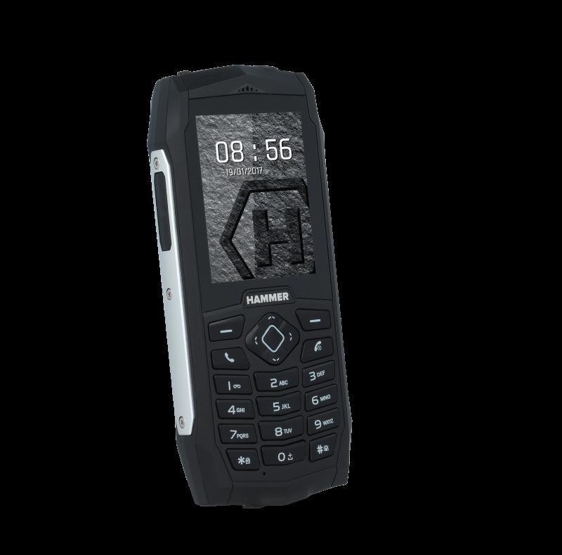 TELEFON DUAL SIM myPhone HAMMER 3 STŘÍBRNÝ