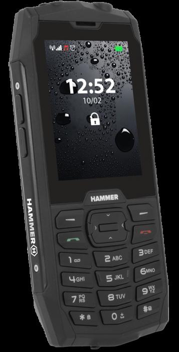 Mobilní telefon myPhone Hammer 4 černý