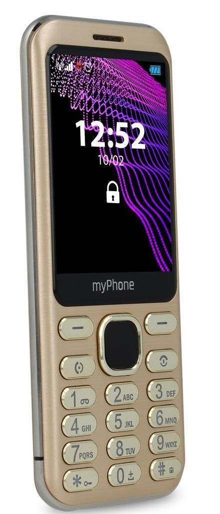 Mobilní telefon myPhone Maestro zlatý