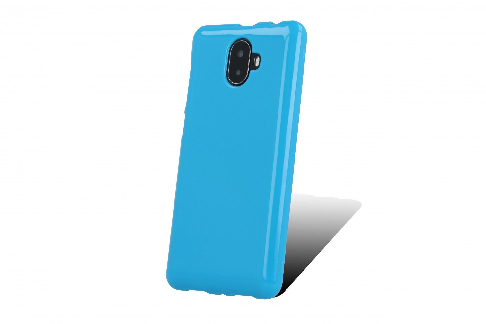 SILIKONOVÉ (TPU) POUZDRO MODRÉ PRO myPhone POCKET 18x9