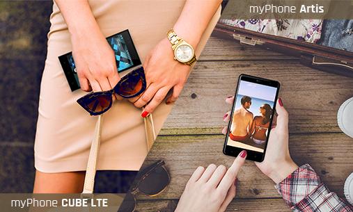 myPhone CUBE LTE & Artis