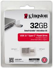 Zobrazit detail produktu Flash disk Kingston USB typ C 3.0 / 3.1 MicroDuo 3C 32GB